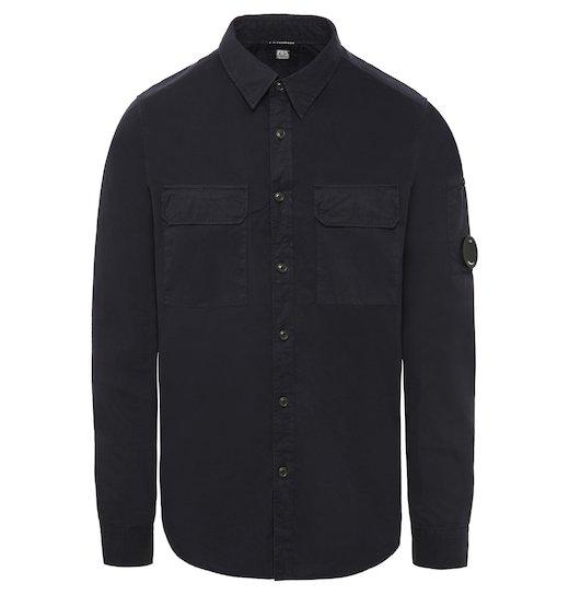 Cotton Gabardine GD Lens Field Shirt Jacket