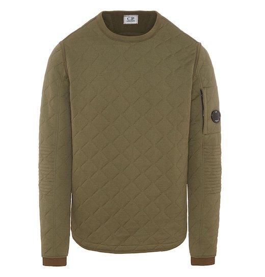 Scuba Fleece Jacquard Lens Crew Sweatshirt