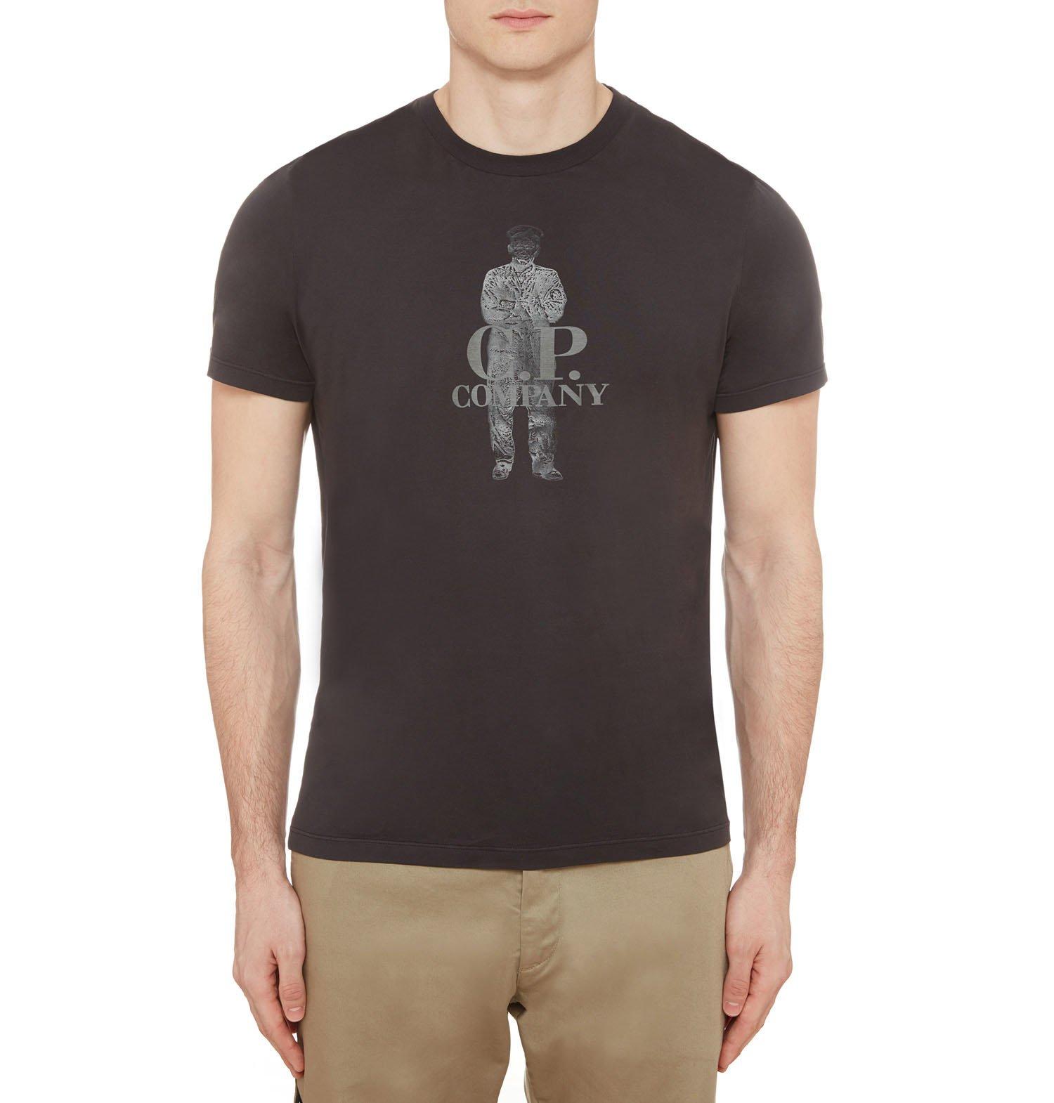 Gd Cotton Jersey C.p. Sailor Print Ss T Shirt  7322b7923