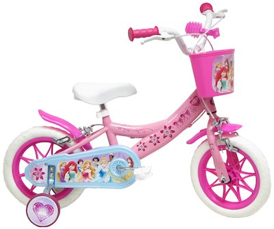DISNEY PRINCESS, BICI CITY 12