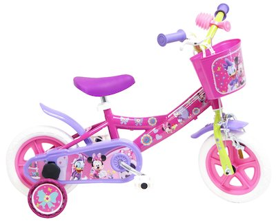 DISNEY MINNIE MOUSE CLUB HOUSE, BICI CITY 10