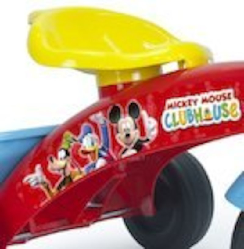DISNEY MICKEY MOUSE TRICYCLE POUR BÉBÉ MARCHEUR