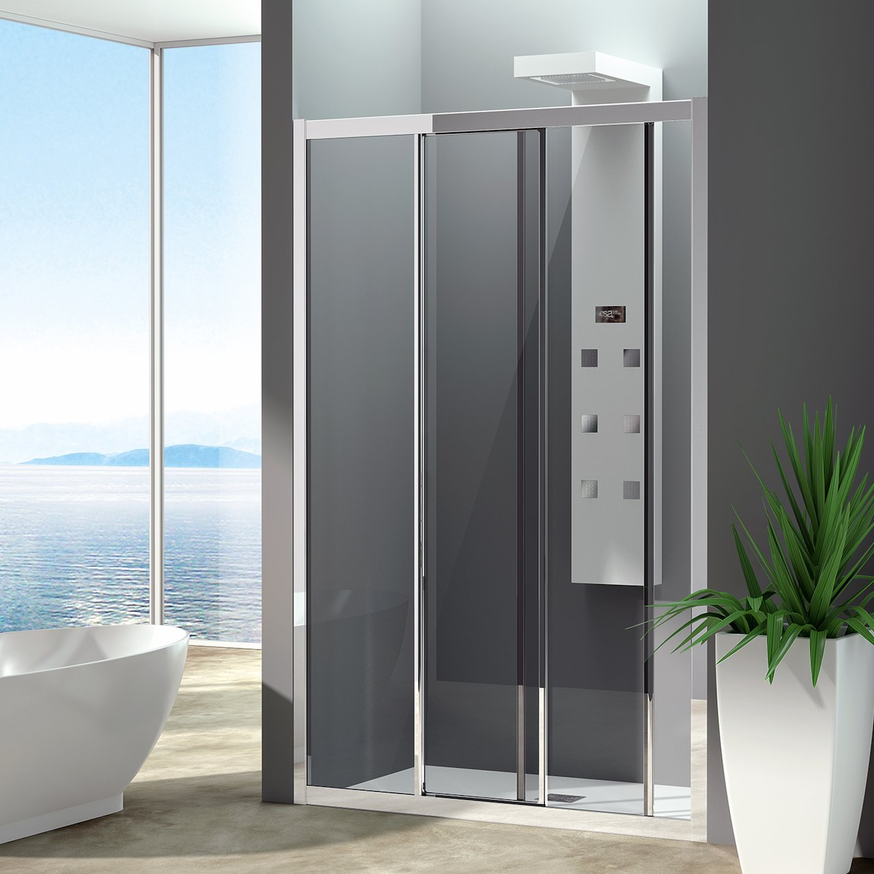 Sliding Shower Enclosure Kawai