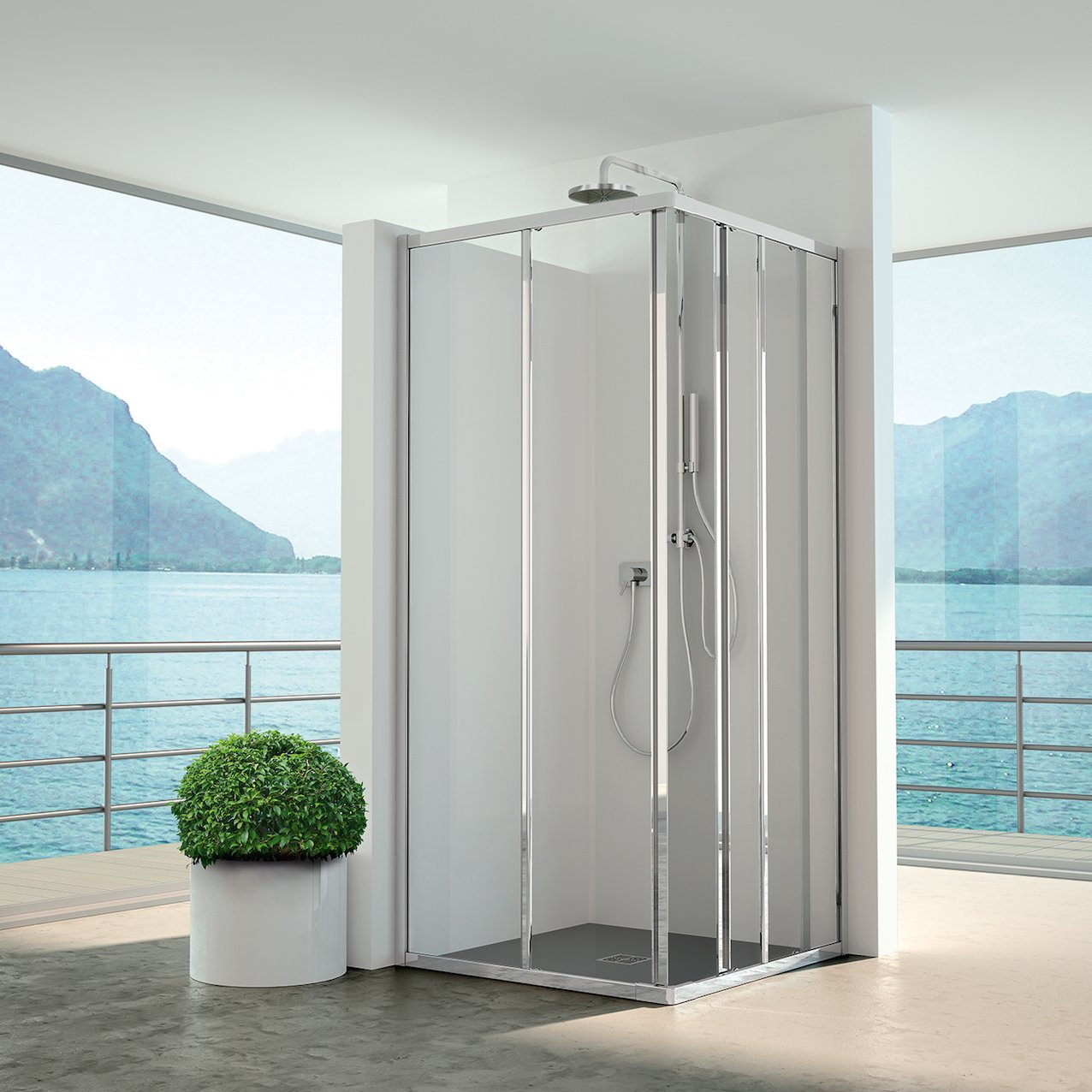 Sliding Shower Enclosure Nevada