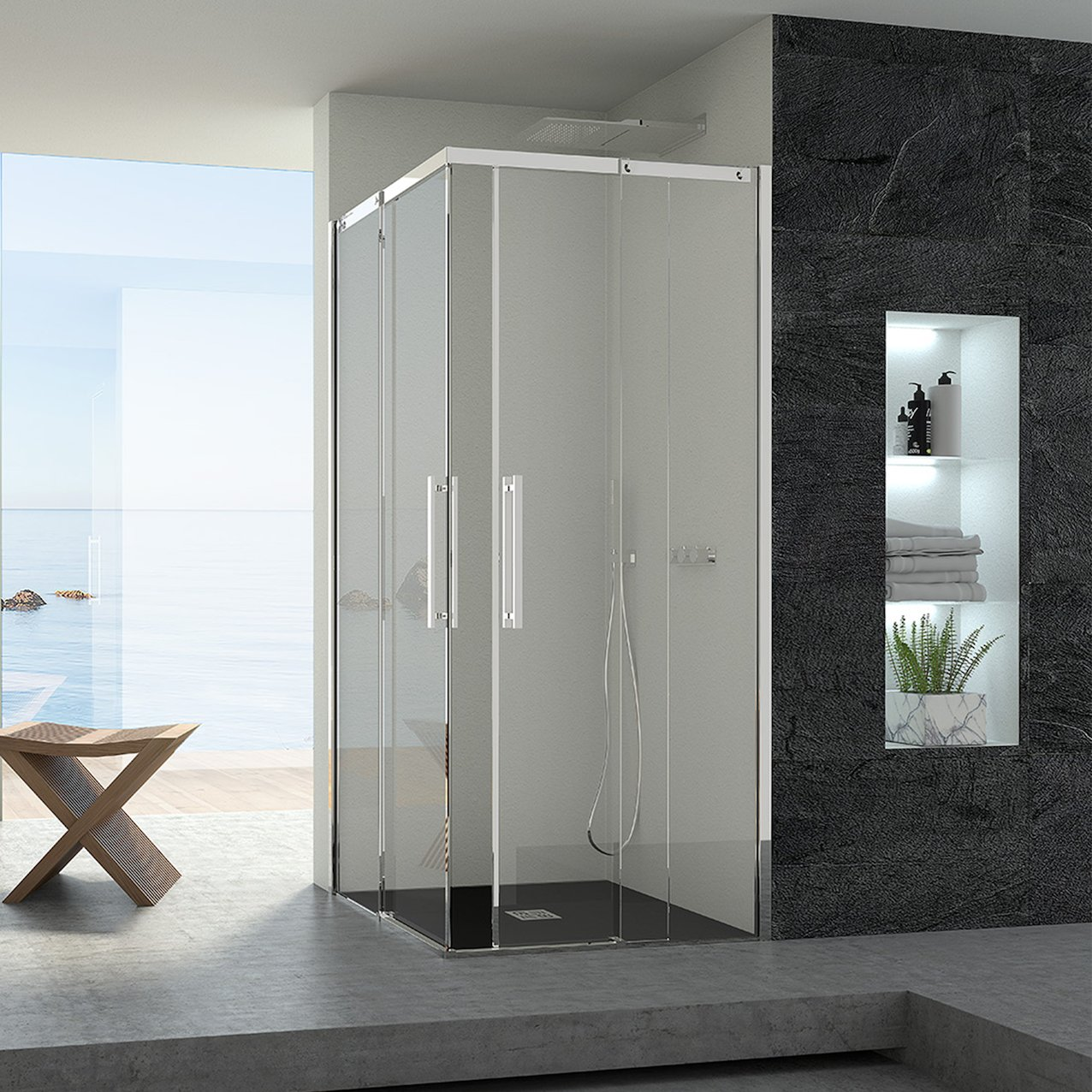 Sliding Shower Enclosure Sentinel