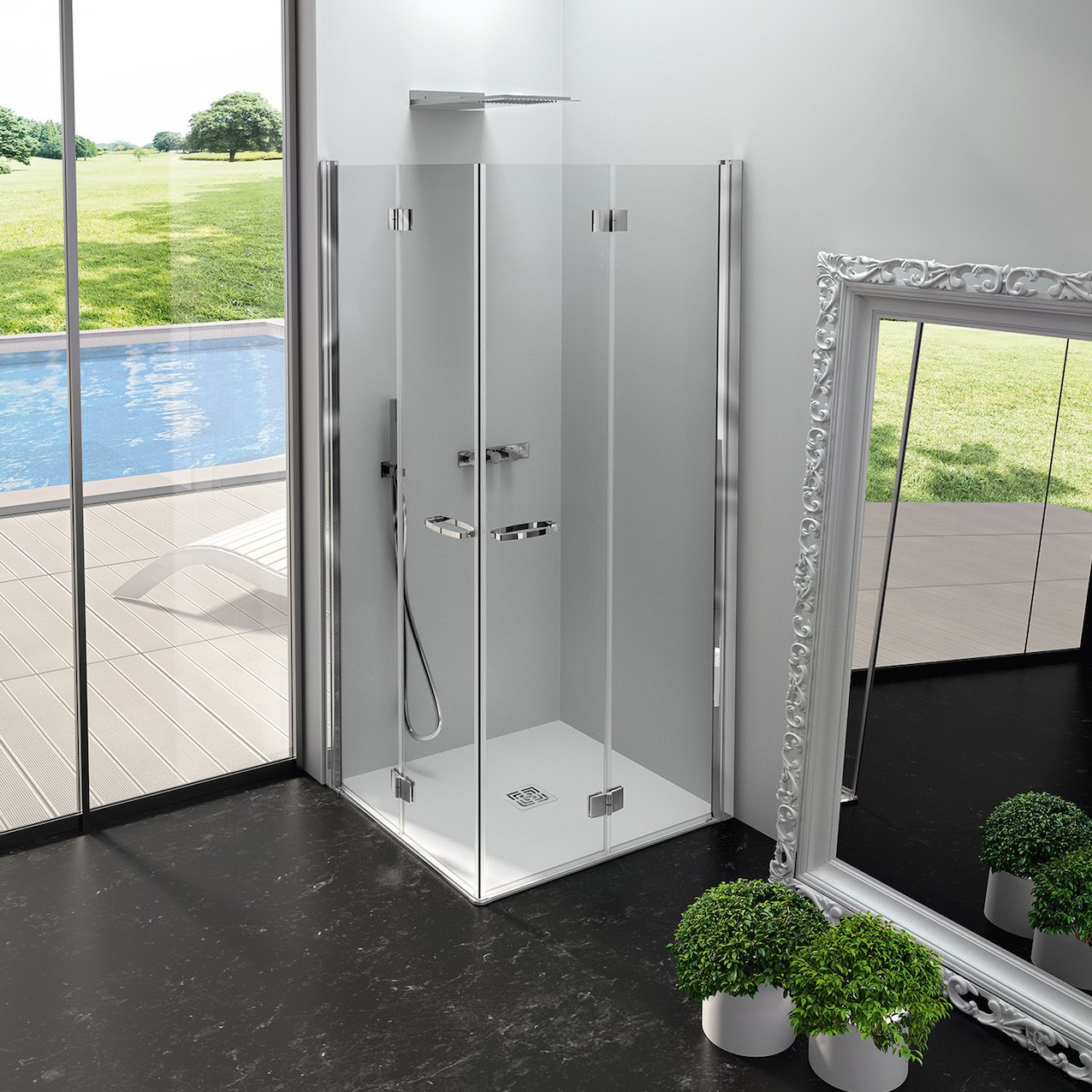 Folding Shower Enclosure Inga