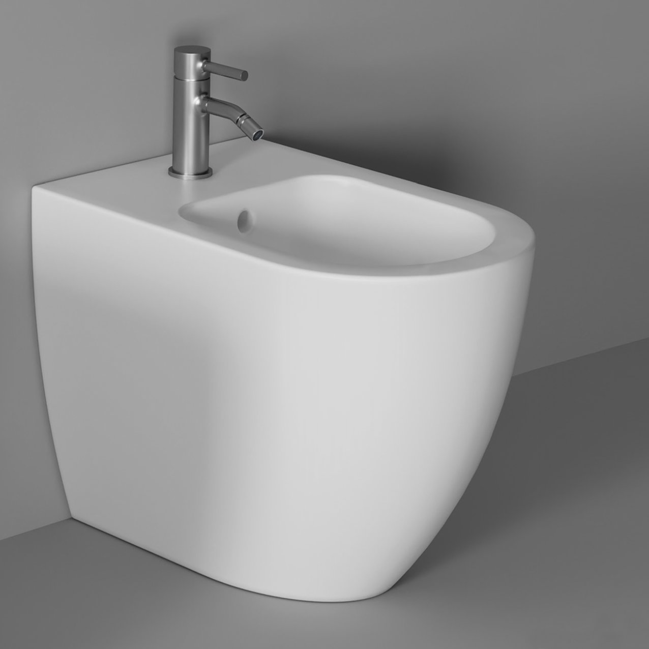 Bidet Form back to wall - White