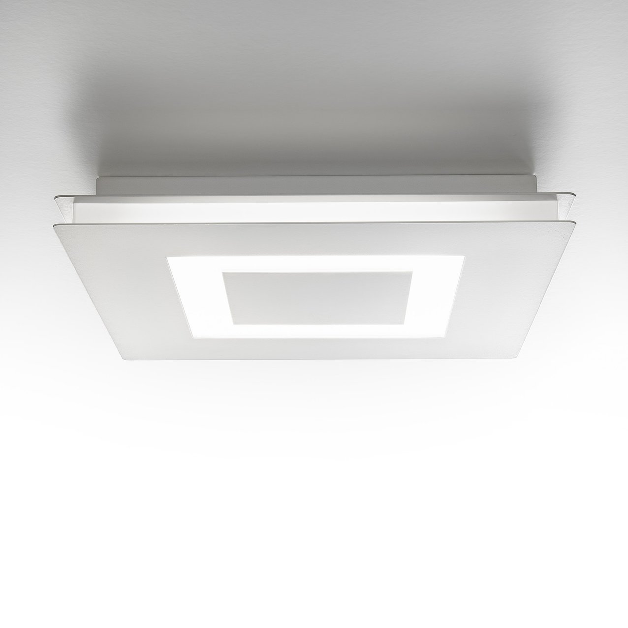 Metal LED Lamp Flat