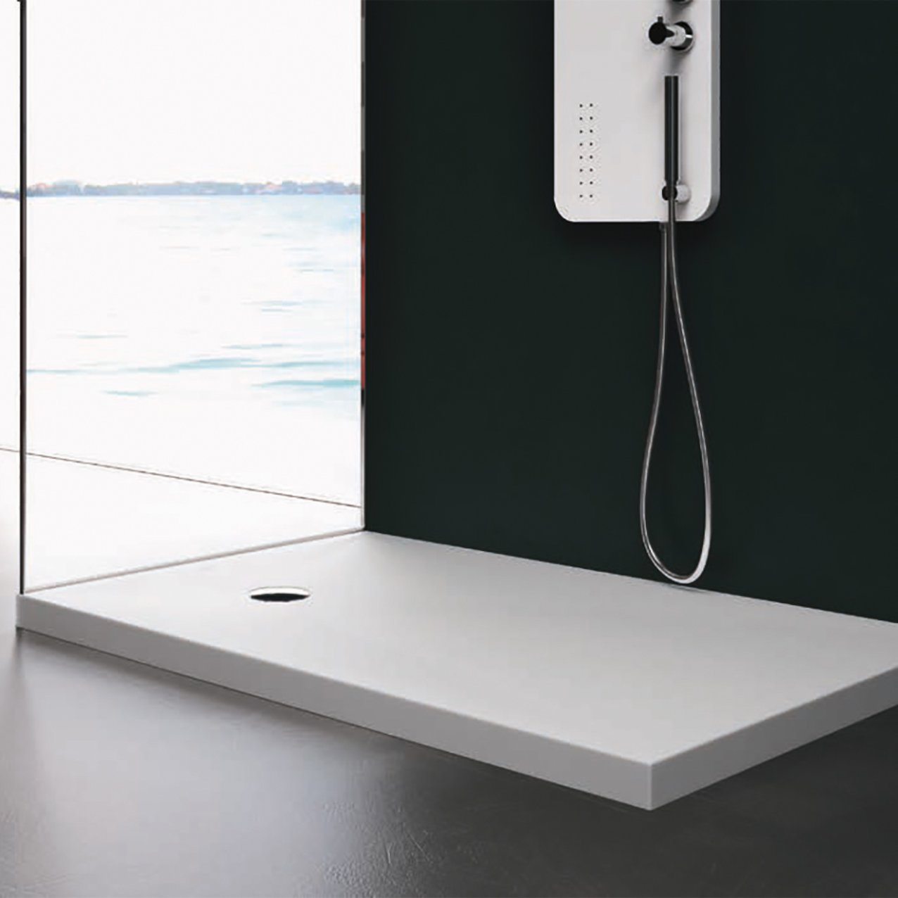 Corian® Shower Tray 6 cm