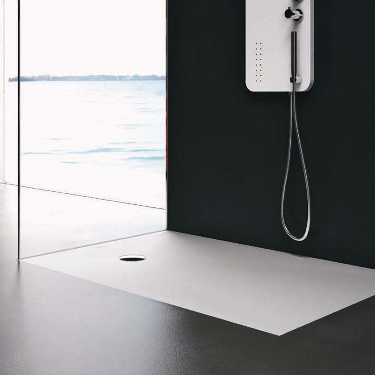 Corian® Shower Tray 1.2 cm
