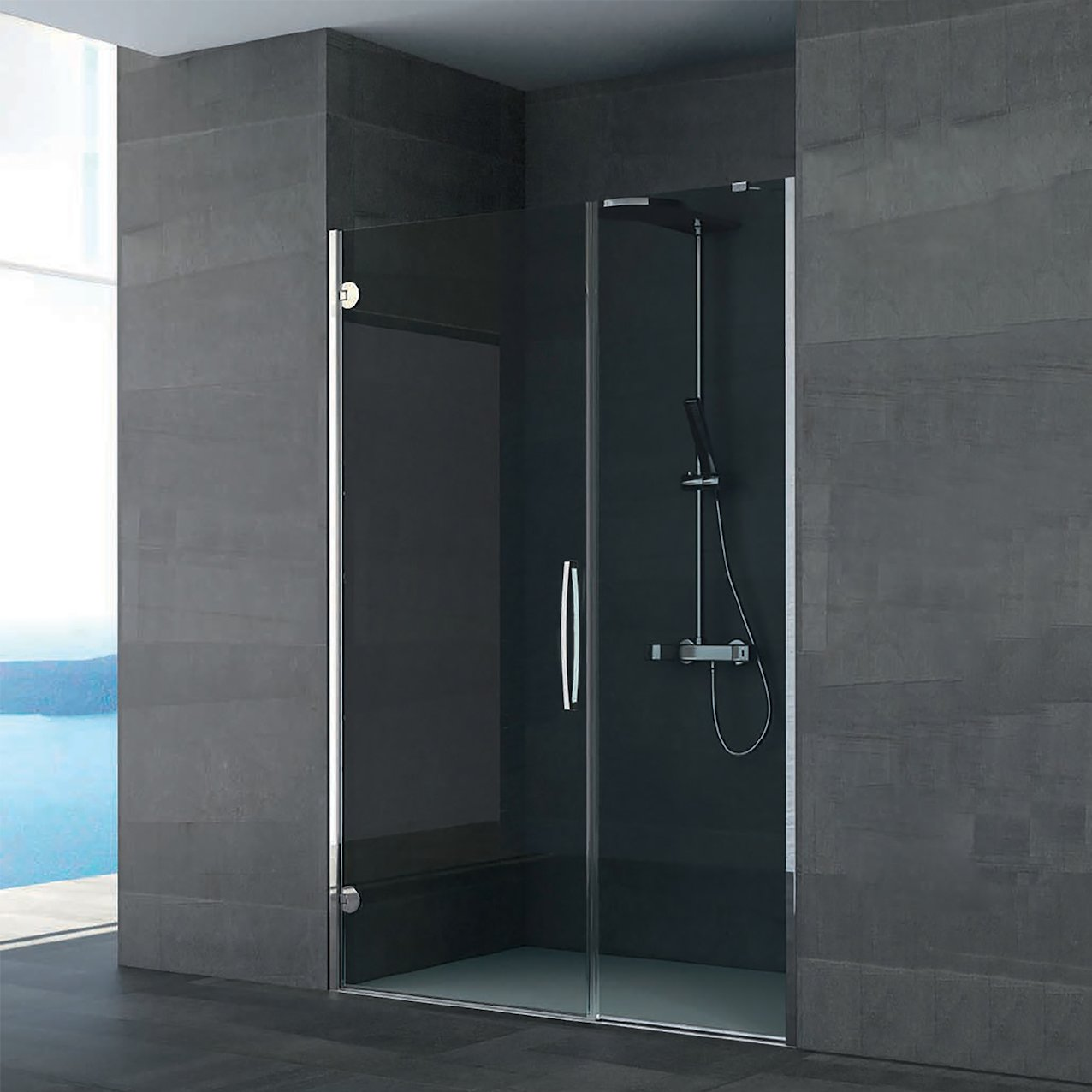 Pivot Shower Enclosure Iguazù