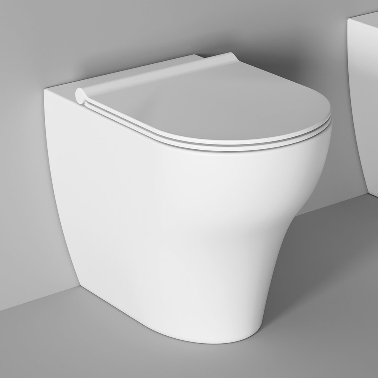 WC UNICA back to wall