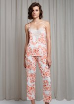 Printed viscose pyjamas