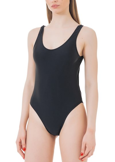 Whole swimsuit - Black