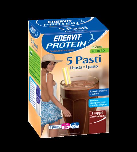 ENERVIT PROTEIN 5 PASTI CACAO