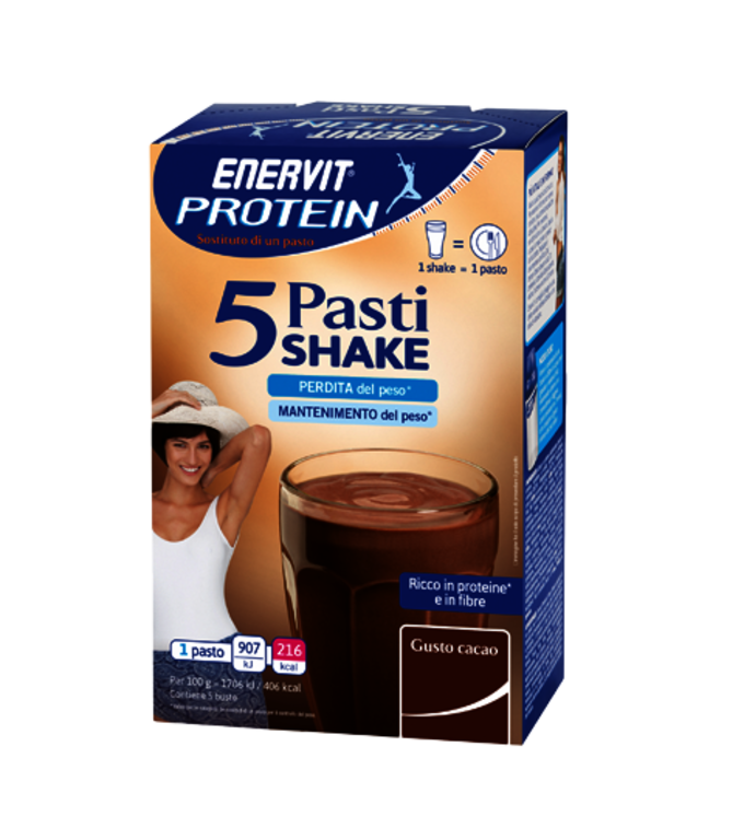 ENERVIT PROTEIN 5 PASTI CACAO - Cacao