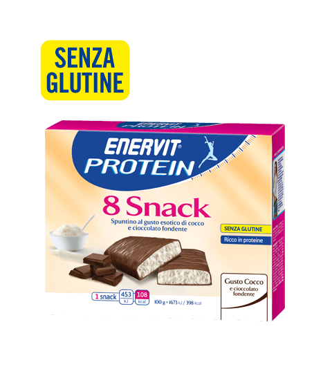ENERVIT PROTEIN 8 SNACK COCCO