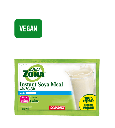 ENERZONA INSTANT MEAL 40-30-30 COCCO