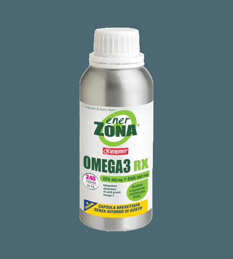 ENERZONA OMEGA 3 RX 60 cps