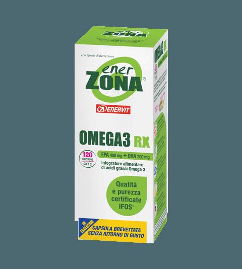 ENERZONA OMEGA 3 RX  120 cps - Neutro