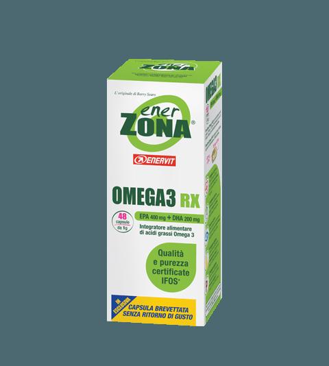 ENERZONA OMEGA 3 RX  48 cps