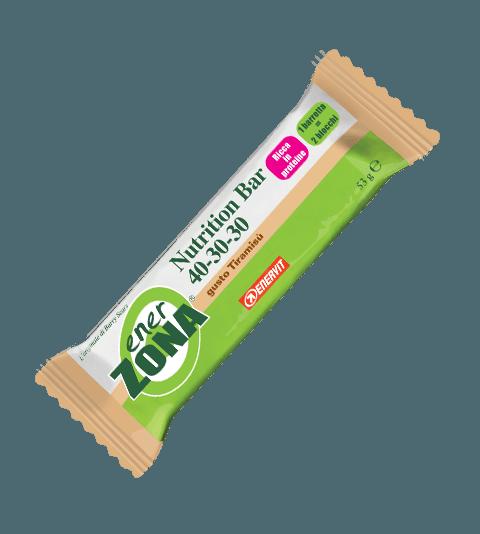 ENERZONA NUTRITION BAR 40-30-30 TIRAMISÙ