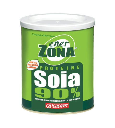 ENERZONA PROTEINE SOIA 90%