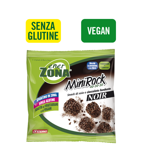ENERZONA MINIROCK 40-30-30 NOIR - Cioccolato Fondente