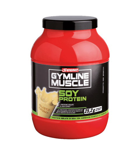 ENERVIT GYMLINE MUSCLE SOY PROTEIN CREMA
