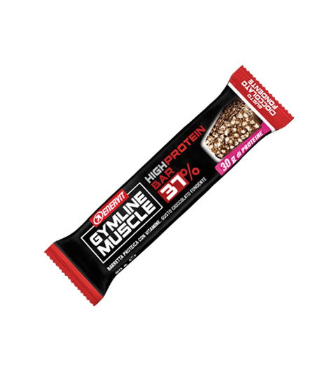 ENERVIT GYMLINE MUSCLE HIGH PROTEIN BAR 37% CIOCCOLATO FONDENTE