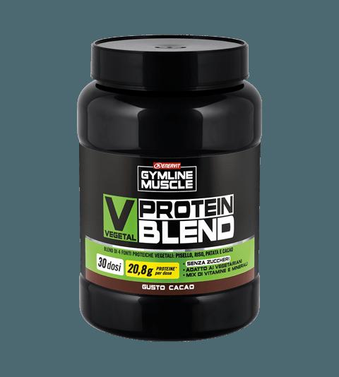 ENERVIT GYMLINE MUSCLE VEGETAL PROTEIN BLEND CACAO