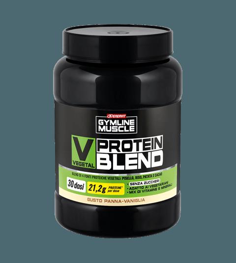 ENERVIT GYMLINE MUSCLE VEGETAL PROTEIN BLEND PANNA-VANIGLIA