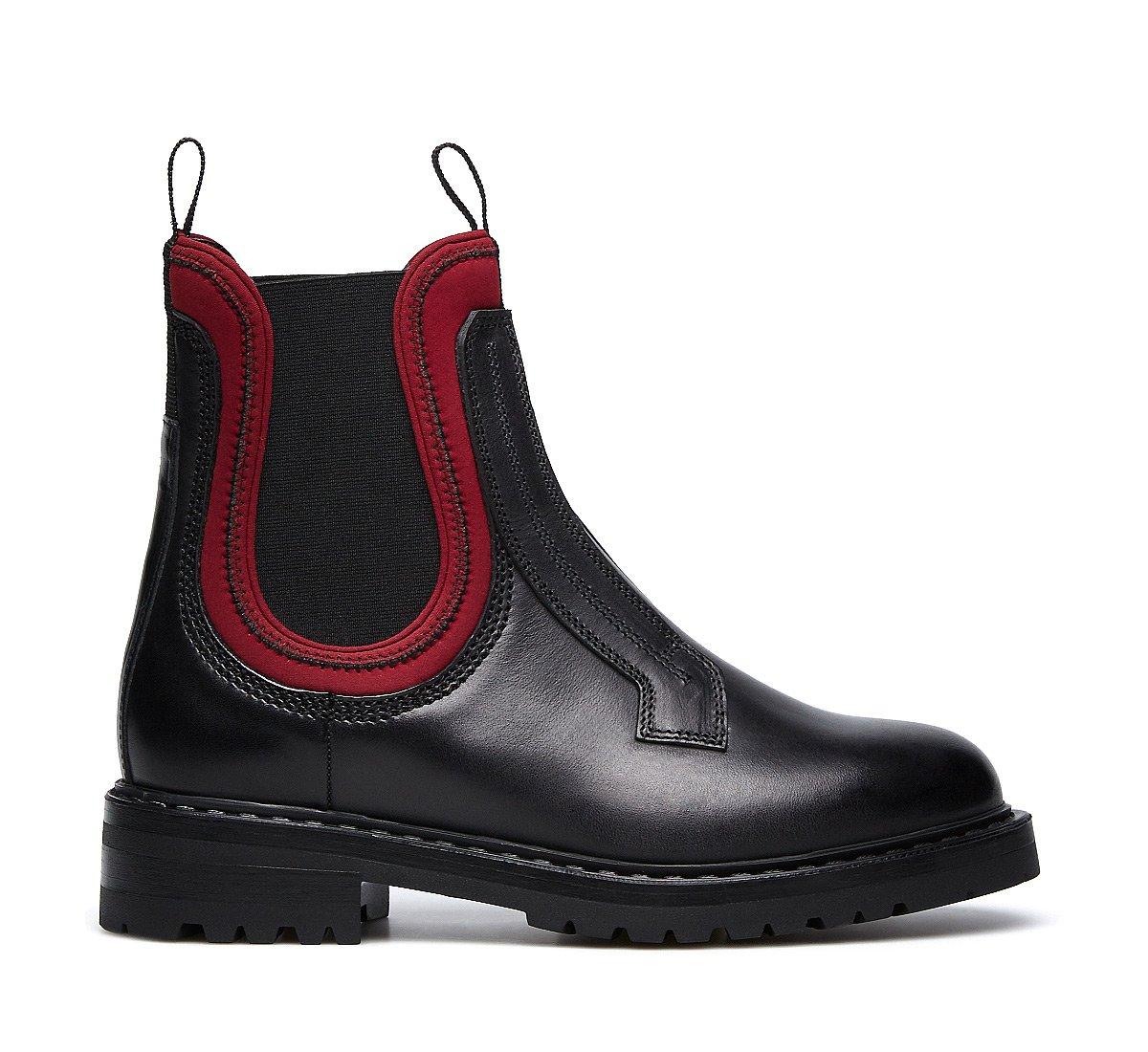 Полностью черные ботинки Челси Barracuda