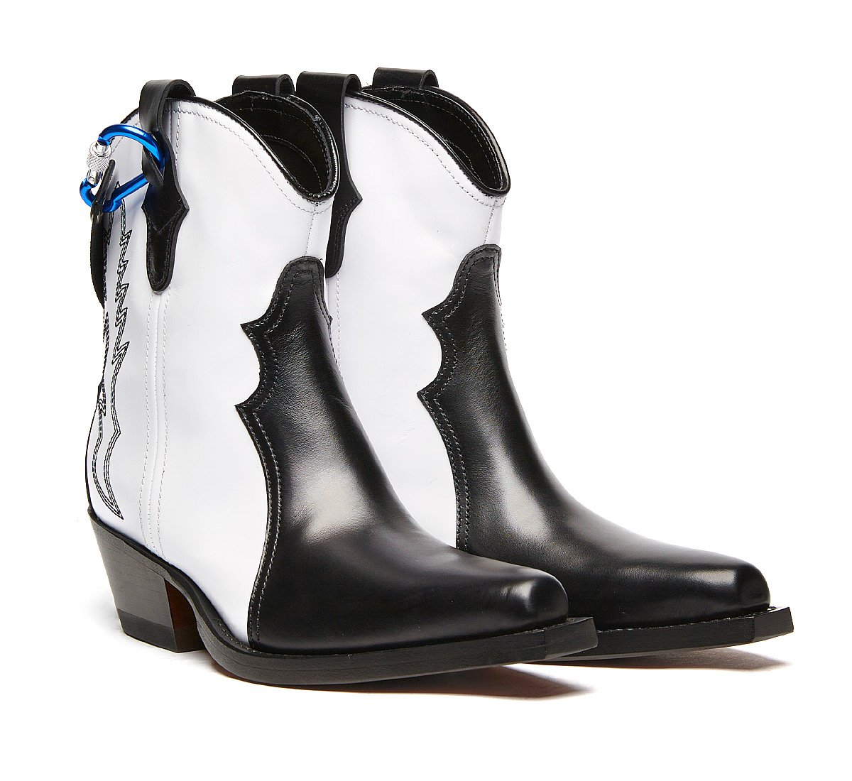 Barracuda Texan boots in luxury calf leather
