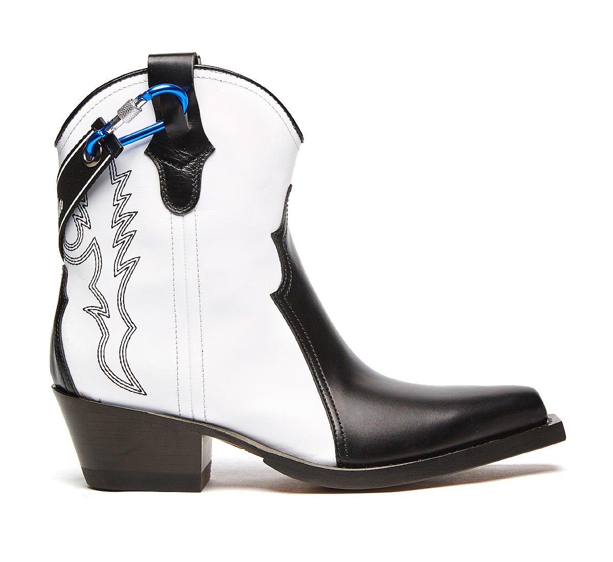 Barracuda Texan boots in luxury calf leather