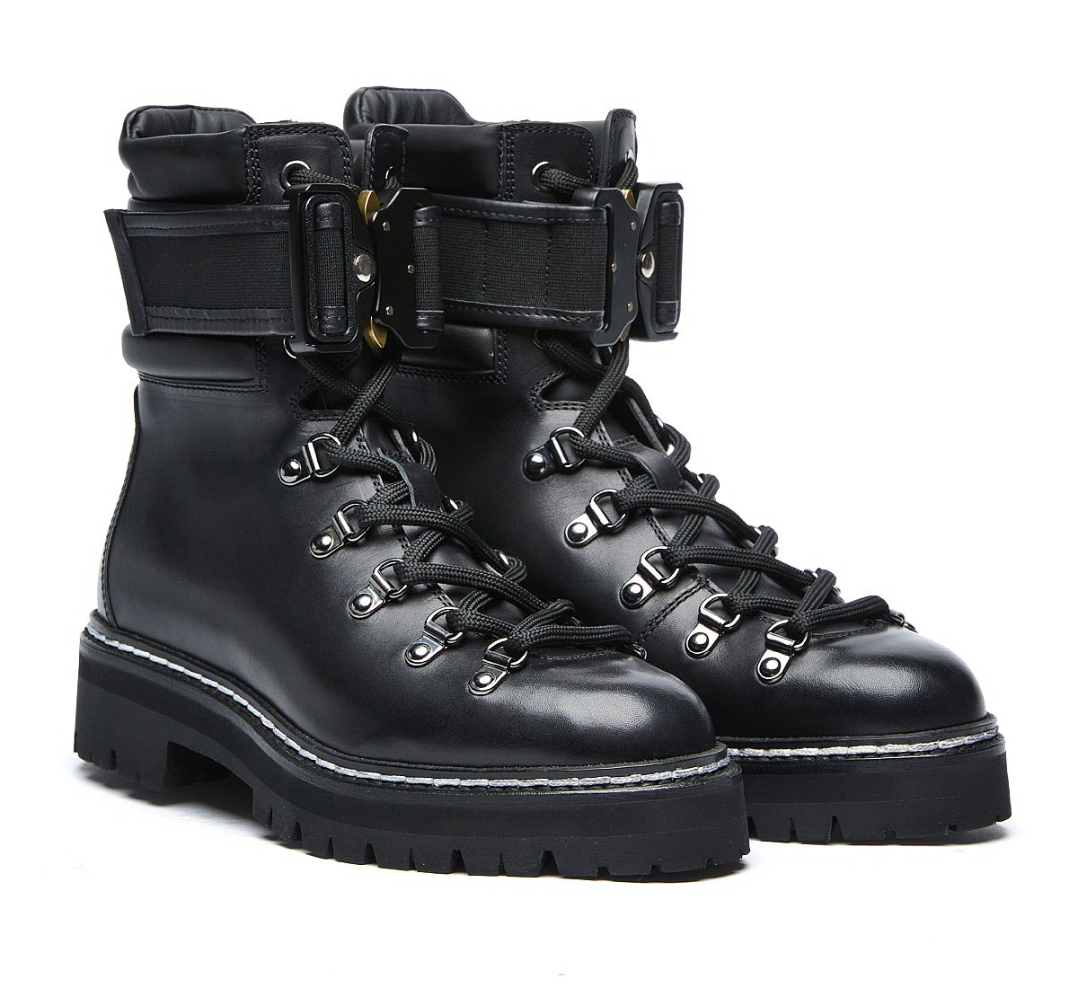 Barracuda commando boots in luxury calf leather