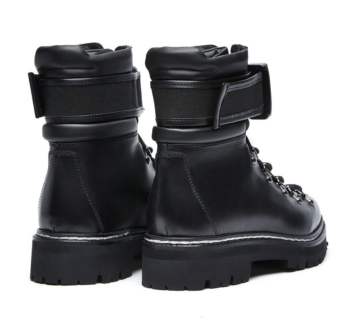 Barracuda commando boots in luxury calf leather
