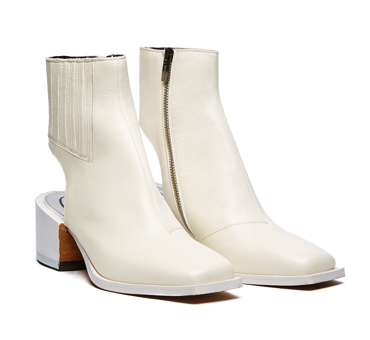 Stivaletto Barracuda total white