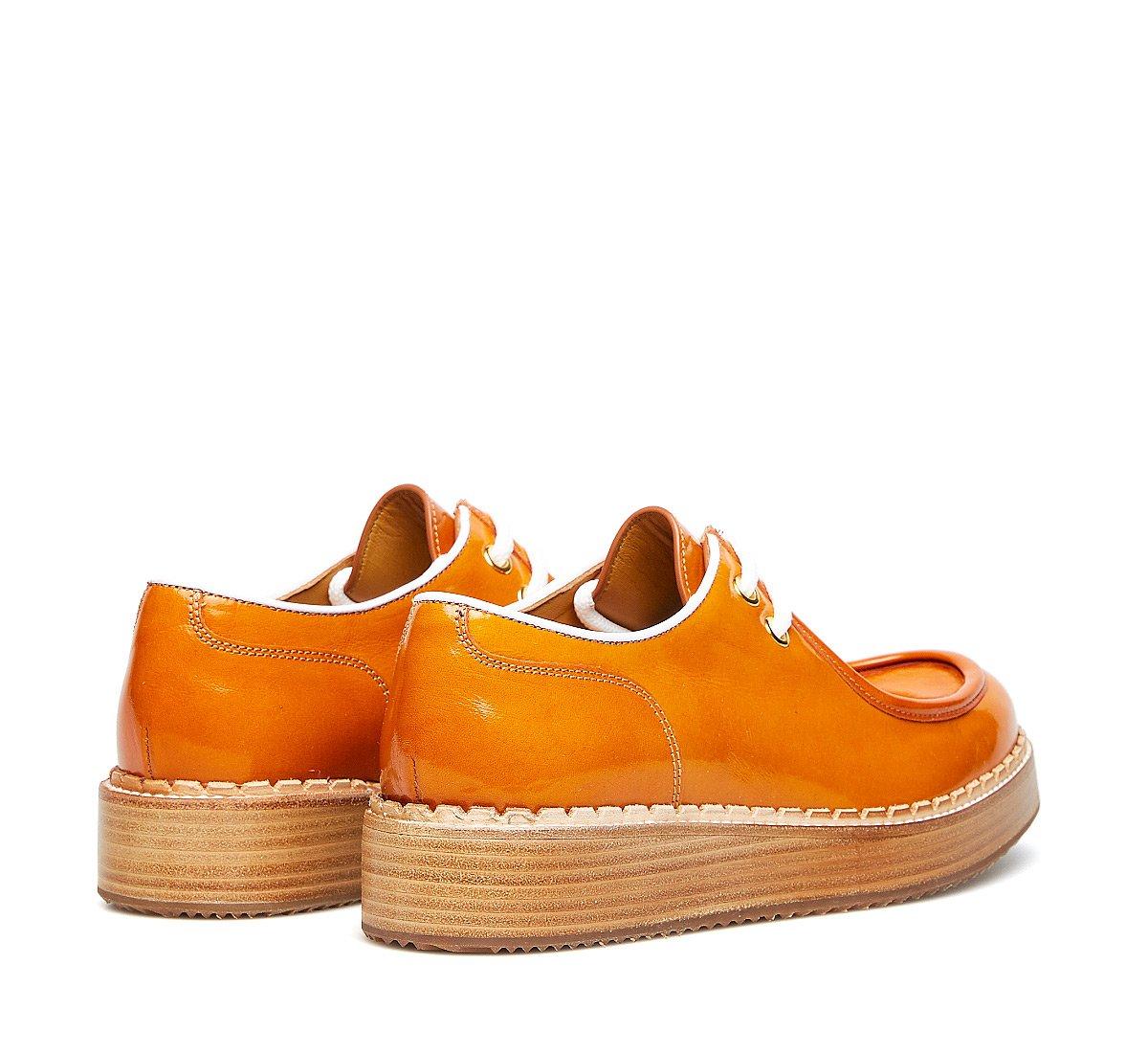 Туфли на шнуровке Barracuda из ценной телячьей кожи