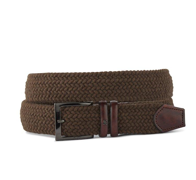 Cintura in lana intrecciata