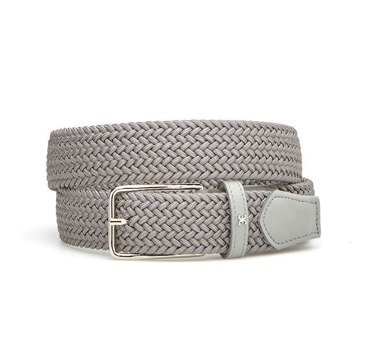 Woven cotton belt