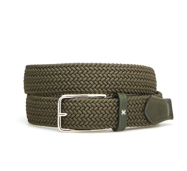 Cintura in cotone intrecciato