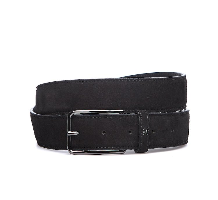 Soft suede belt