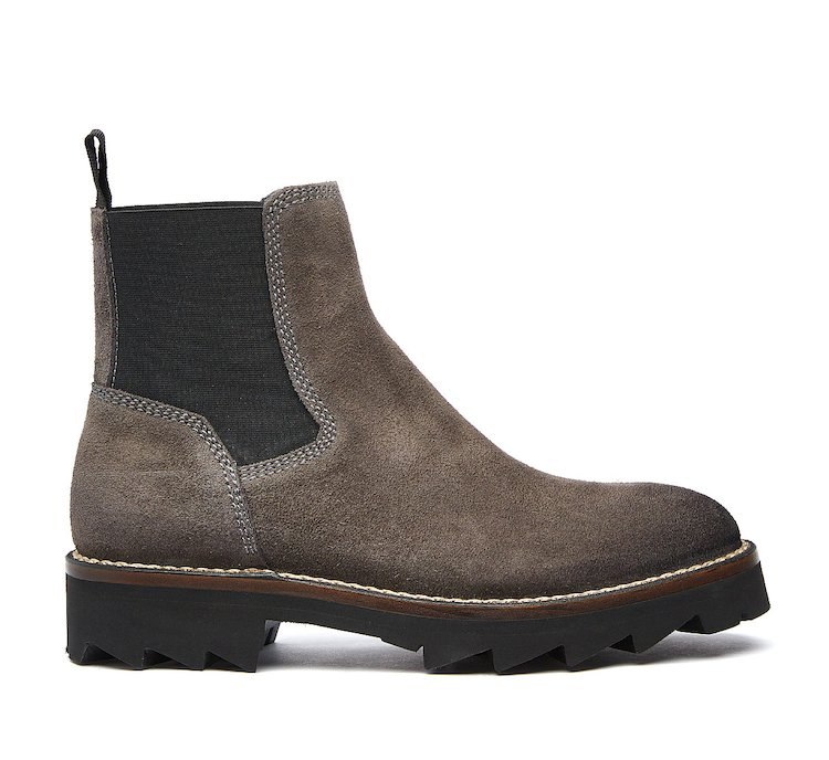 Barracuda Beatle boot in sueded calf leather