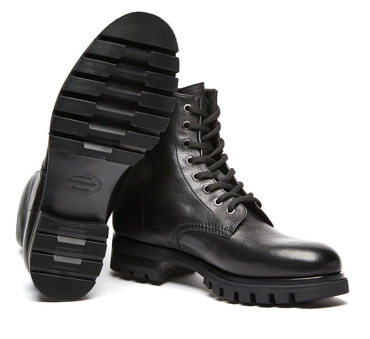 Barracuda commando boot in luxury calf leather