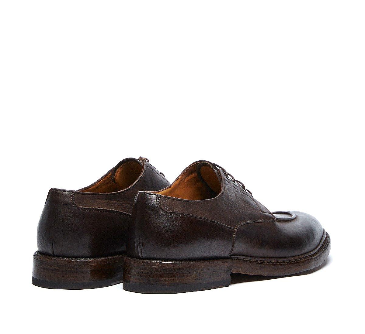 Винтажные ботинки на шнурках Barracuda из высококачественной телячьей кожи