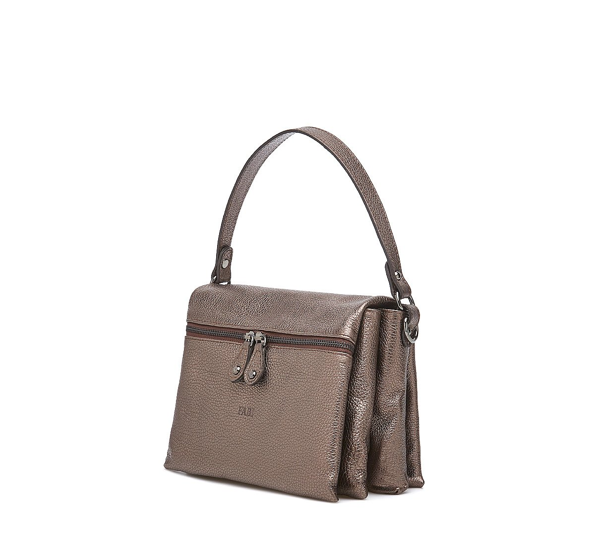 City bag in calf leather