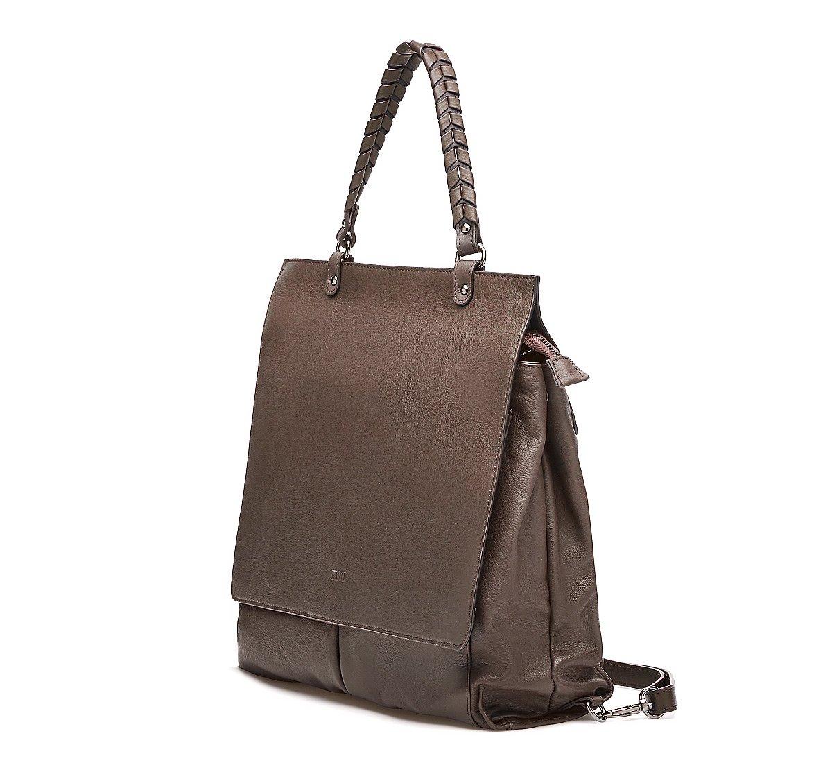 Рюкзак из мягкой кожи