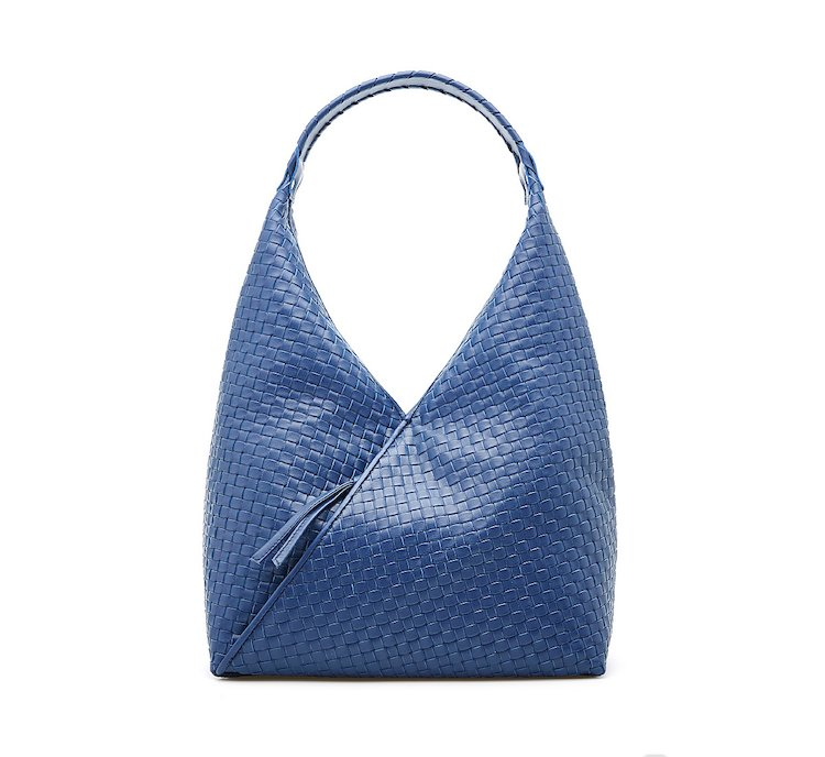 Shopper bag in calfskin
