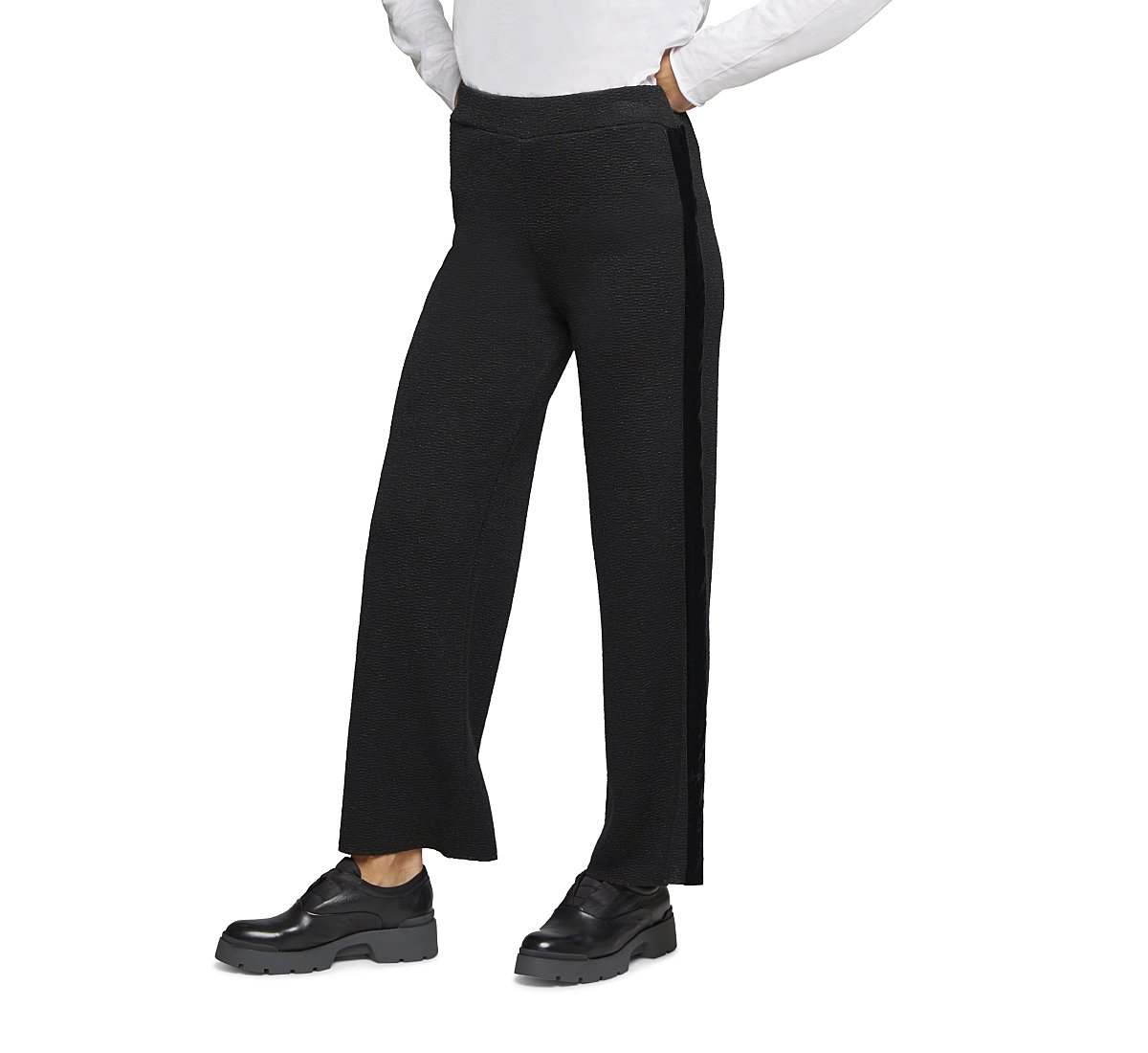 Pantaloni elasticizzati in viscosa